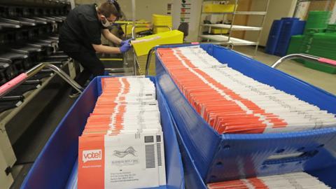今秋76%美國人可郵寄投票 投票率或破紀錄