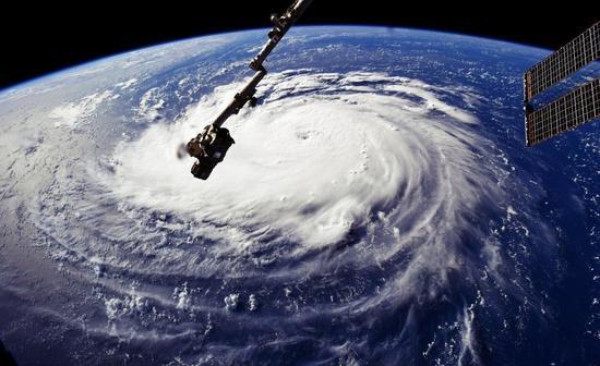 颶風佛羅倫斯。 圖/路透社