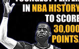 NBA歷史最年輕三萬分先生!