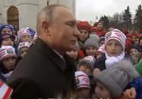俄罗斯儿童克里姆林宫庆新年