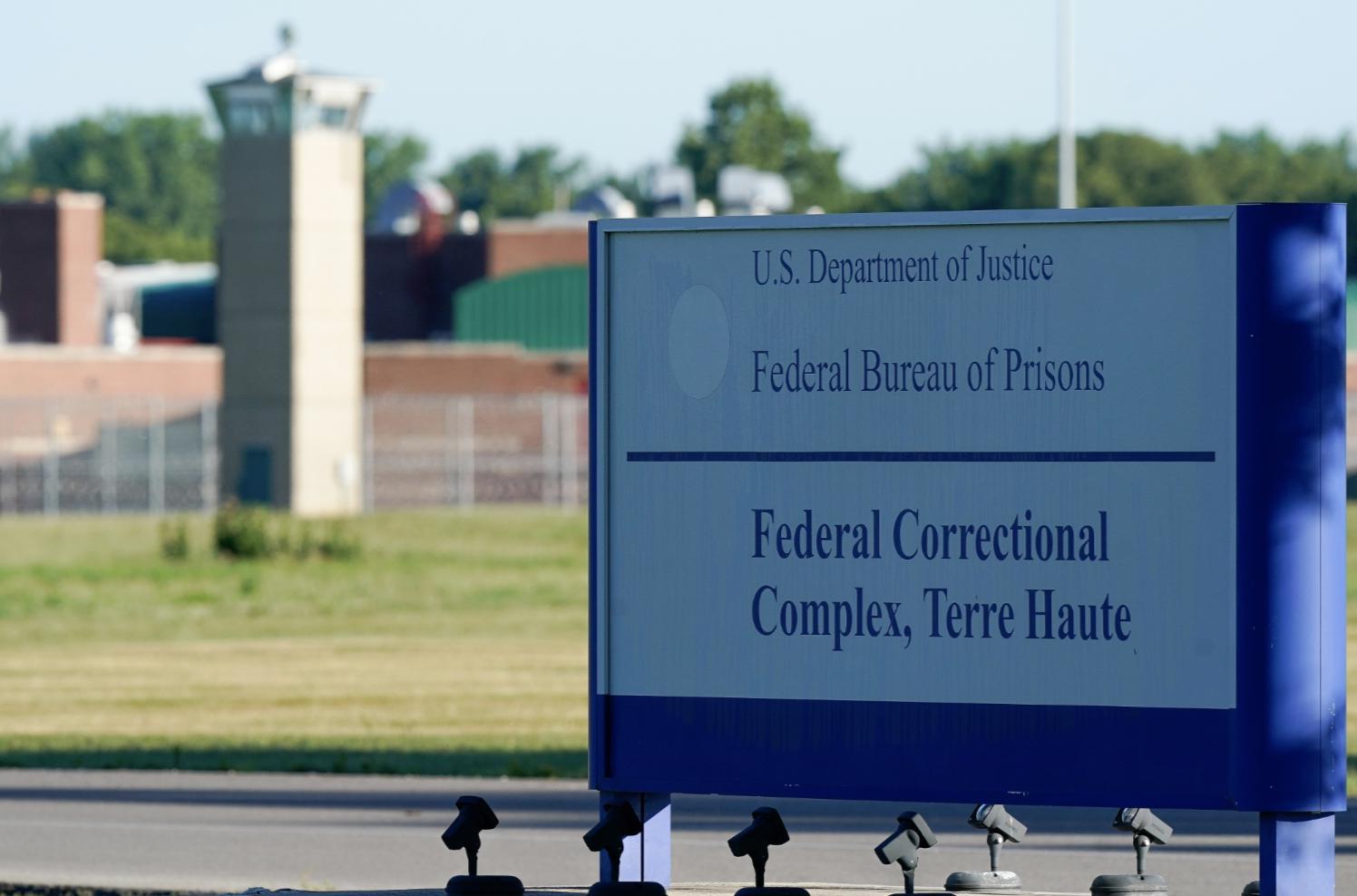 印第安納州特雷豪特(Terre Haute)聯邦監獄。(路透社圖)
