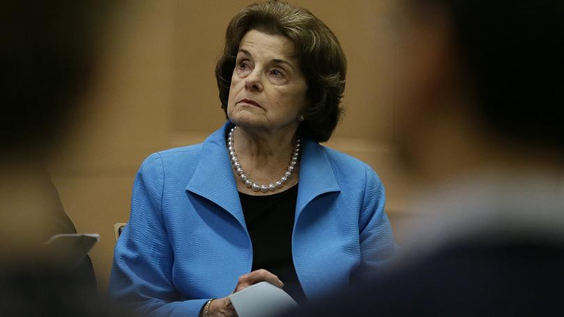 图为加州高级参议员黛安·范士丹(Dianne Feinstein)。(图片来源:美联社资料图)