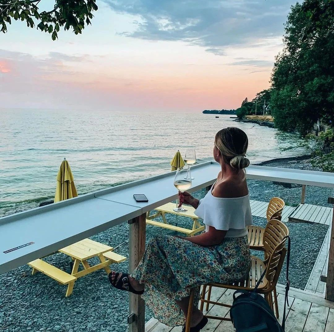 海邊絕美patio+南法風情酒店,安省這個地方也太美了吧!
