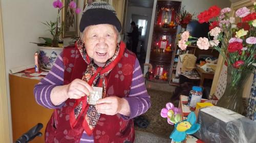葉老太生前照片。(受訪者提供)