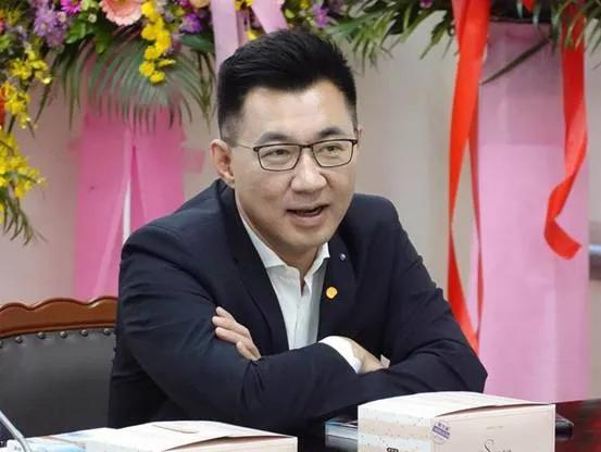 國民黨主席江啓臣 資料圖