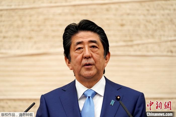 資料圖:日本首相安倍晉三。